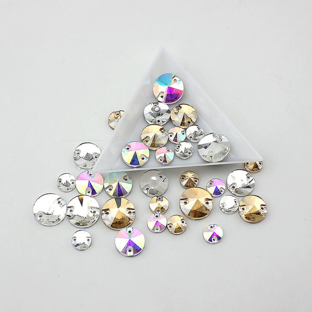8mm-16mm Crystal buttons  5