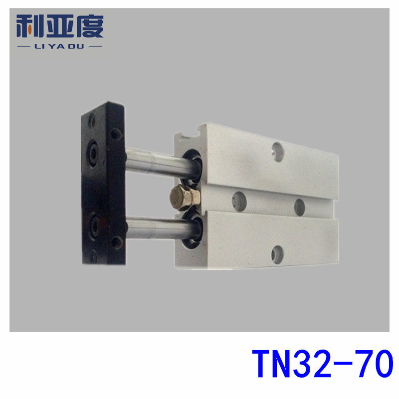 TDA32-70 biaxial cylinder TDA32*70 double rod cylinder TN32-70 pneumatic components TN32x70 cylinder airtac type tn tda series tn 32 70 dual rod pneumatic air cylinder guide pneumatic cylinder tn32 70 tn 32 70 tn32 70 tn32x70