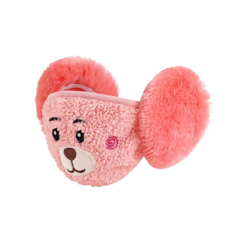 2Pieces/Lot Lovers Men Women Children Cartoon Warm Ears Half Face Mask Winter Accessories Windproof  Outdoor Masks