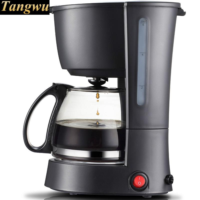 coffee maker USES an American drip-drip, automatic miniature coffee maker uses the american drizzle to make tea drinking machine