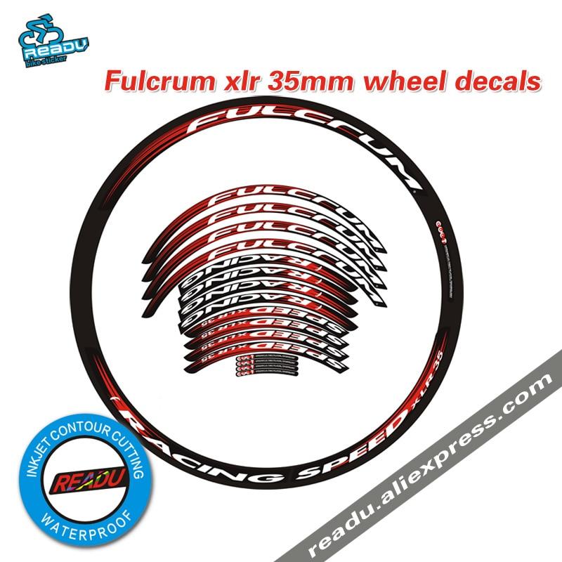 xlr35 road bike wheel rims stickers wheelset decals xlr Bicycle rim depth 35mm Decals for two wheels stickers