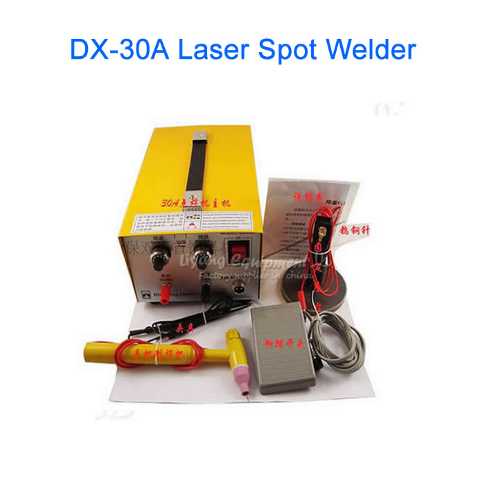 DX-30A Handheld Laser Spot Welder, Laser Jewelry Welder, Welding Machine welder machine plasma cutter welder mask for welder machine