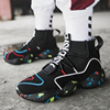 Men's Boots w/ Black and White with Multiple Colors Sneakers 5