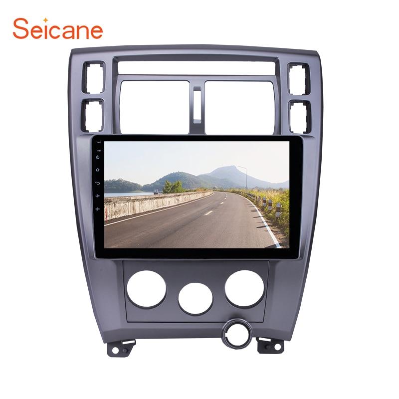 Seicane Android 6.0 10.1 Autoradio GPS Navigation Multimédia Lecteur Autoradio Pour Hyundai Tucson Gauche Conduite À 2006 -2013