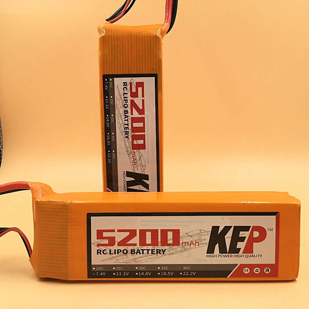 KEP RC Lipo Battery 5S 18.5v 5200mAh 25C For RC Aircraft Helicopter Car Boat Drones Quadcopter Li-Polymer Batteria 5S AKKU f17534 5 6stat cnc round oil plug with fuel dot filling nozzle mouth 4 5mm for rc model boat aircraft helicopter car