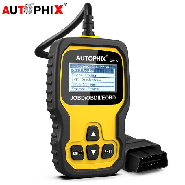 Autophix OM127 JOBD Automotive Scanner Very compatible Japanese Car Read  Clear Fault Codes In Russian Car Diagnostic Scanner