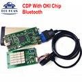 TCS CDP Con la Viruta de OKI Bluetooth CDP Pro Plus 2014 R2 Keygen Tcs Escáner OBDII Herramienta de Diagnóstico Para Los Coches y Los Carros MVDIAG NUEVO VCI DS