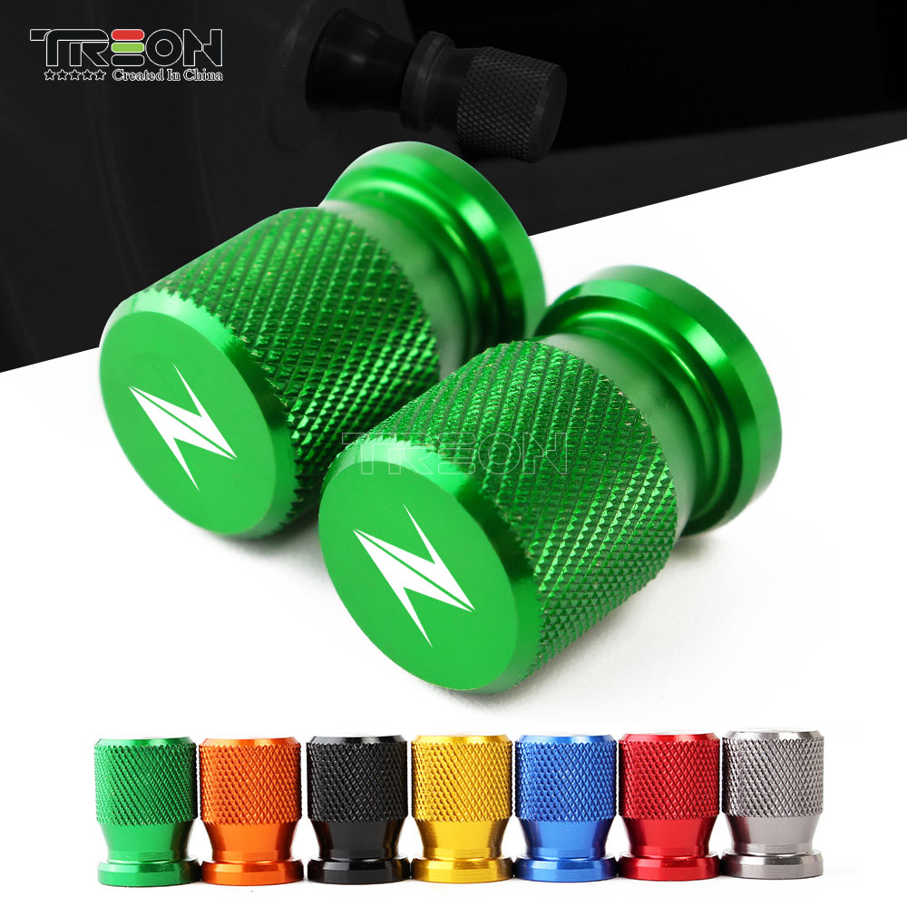 Motorcycle Accessorie Wheel Tire Valve Stem Caps CNC Airtight Covers For For KAWASAKI Z750 Z650 Z800 Z900 Z1000 ZX6R ZX10R ZX14R цены
