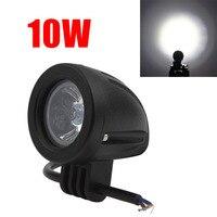Su geçirmez 760LM 10 W Offroad Araba LED İş Işık Iyi LED sürüş Sis Lambası Araba/Motosiklet/Tekne/ATV