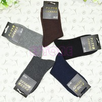 5Pair Men S Boy Thick Wool Mixture ANGORA Cashmere Warm Winter Pure Color Socks