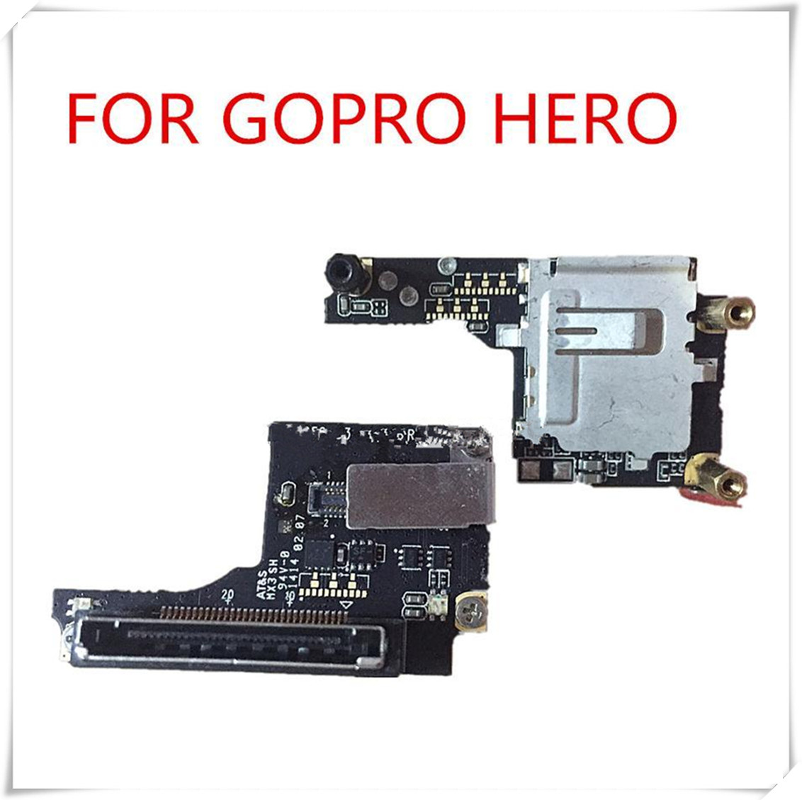 Gopro Replacement Hero 3+ SD Board Hero 3 plus SD board TF card reader for Gopro Hero 3+ Power Board