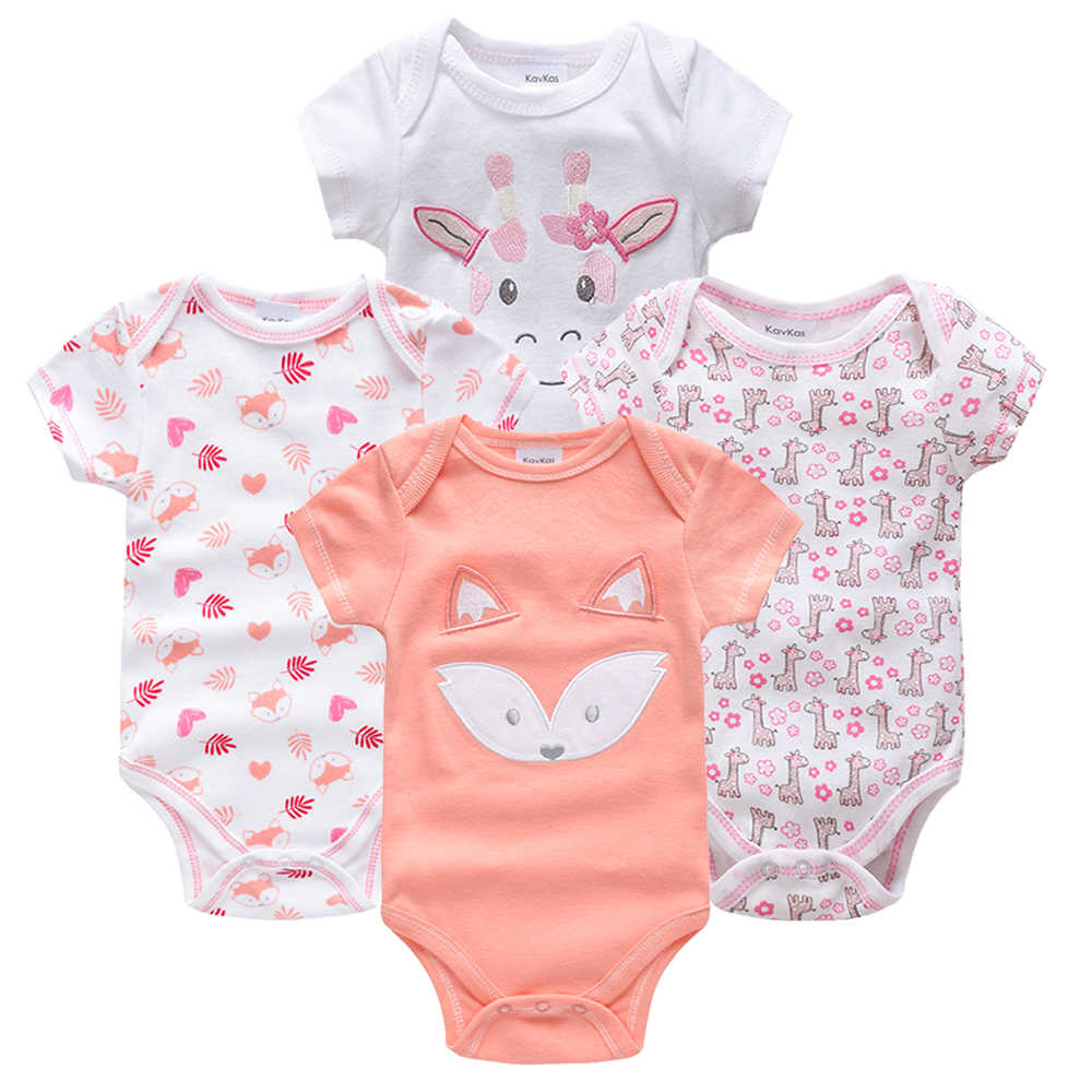 8f831fa259c6 Detail Feedback Questions about Kavkas Baby Bodysuits 4pieces ...