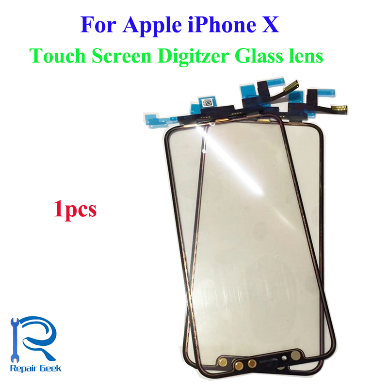Touch Screen Digitizer For Apple iPhone X High Quality Outer Touch Screen Glass Lens Replacement Parts