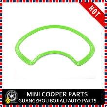 Marka Yeni ABS Malzeme UV Korumalı Mini Checker Stil Dashboard Airvent Kapak Mini cooper R56 R55 R57 R58 R59 (1 adet/takım)