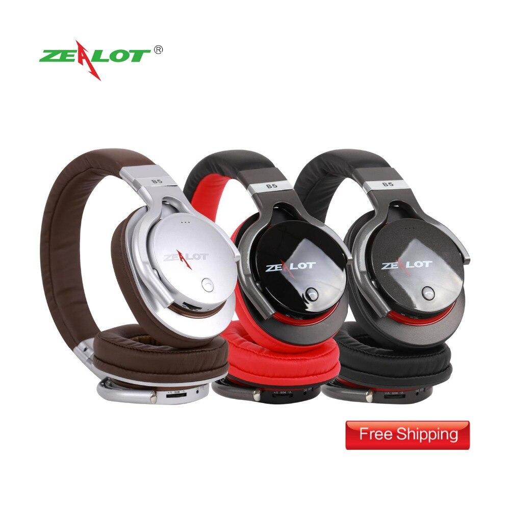 ZEALOT B5 Bluetooth4.0 Stereo qulaqlıq qulaqcıqlar üçün mikro - Portativ audio və video - Fotoqrafiya 6