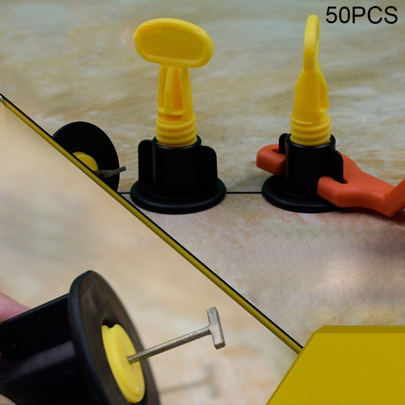 Newly 50pcs Flat Ceramic Leveler Floor Wall Construction Tools Reusable Tile Leveling System Kits XSD88Newly 50pcs Flat Ceramic Leveler Floor Wall Construction Tools Reusable Tile Leveling System Kits XSD88