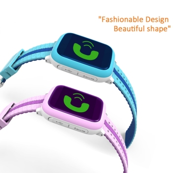 Smart Watch Kids Touch Screen Camera Positioning Childrens Watches SOS Call Location Anti-Lost Reminder Children Clock