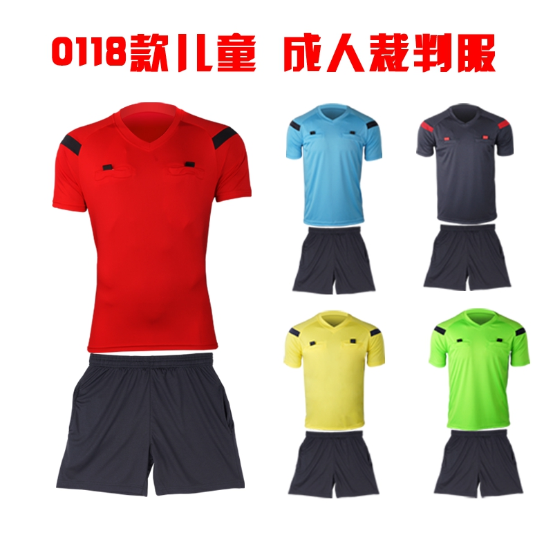 de08bcb4b 2016 14 style Jersey Soccer Judge uniform professional soccer referee  clothing Football referee Jersey black yellow green blue-in Soccer Jerseys  from Sports ...