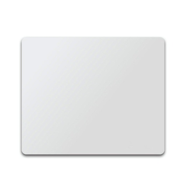 Aluminum Alloy Mouse Pad Double Sided Accurate Control Mice Mat Anti-slip Mouse pad Gaming Mouse Pad for Laptop PC Mouse Office & School Supplies