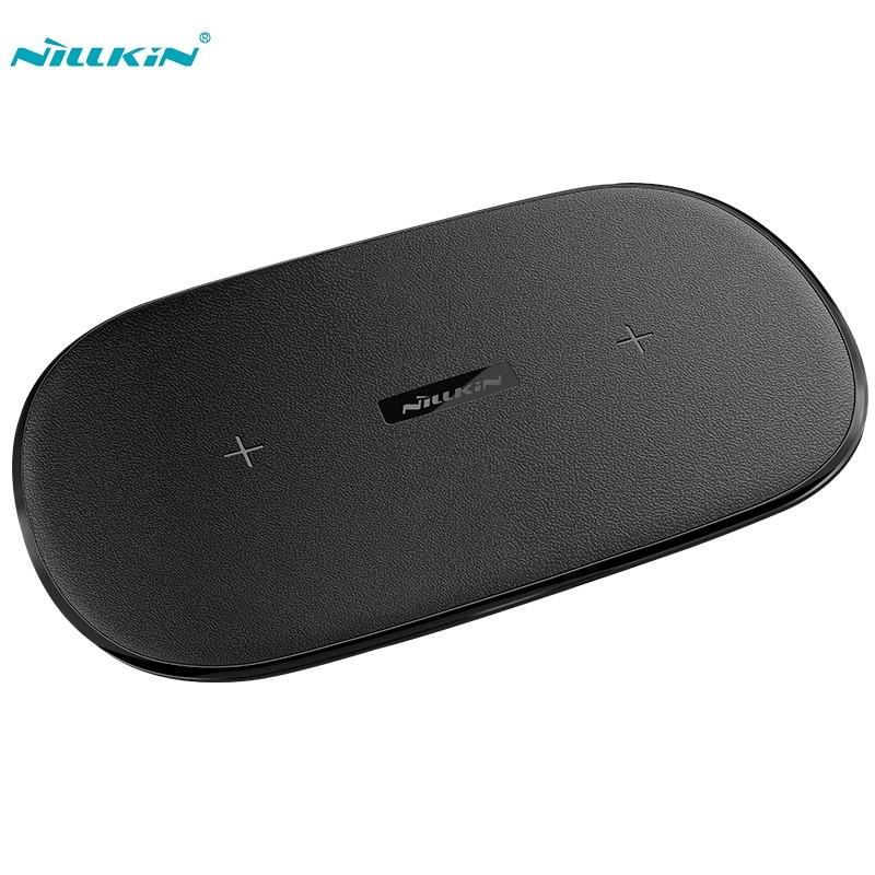 Chargeur rapide sans fil NILLKIN Gemini pour iphone X XR XS Max Qi chargeur rapide sans fil pour Samsung Note 9 8 S9 Plus xiaomi Oneplus