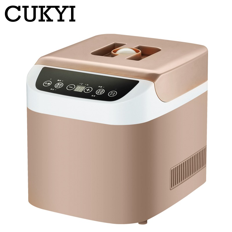 CUKYI Household electric Yogurt Maker pickle rice wine natto machine intelligent refrigeration 1 2L big capacity
