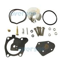 66T W0093 00 Carburetor Repair Kit For Yamaha Parsun Powertec 40HP Outboard Engine Boat Motor aftermarket