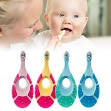 Baby Multi-functional Toothbrush Children Kids Tooth Care Soft Hair Milk Toothbrushes Newborn Infant Training Molar Rod Teether цены онлайн