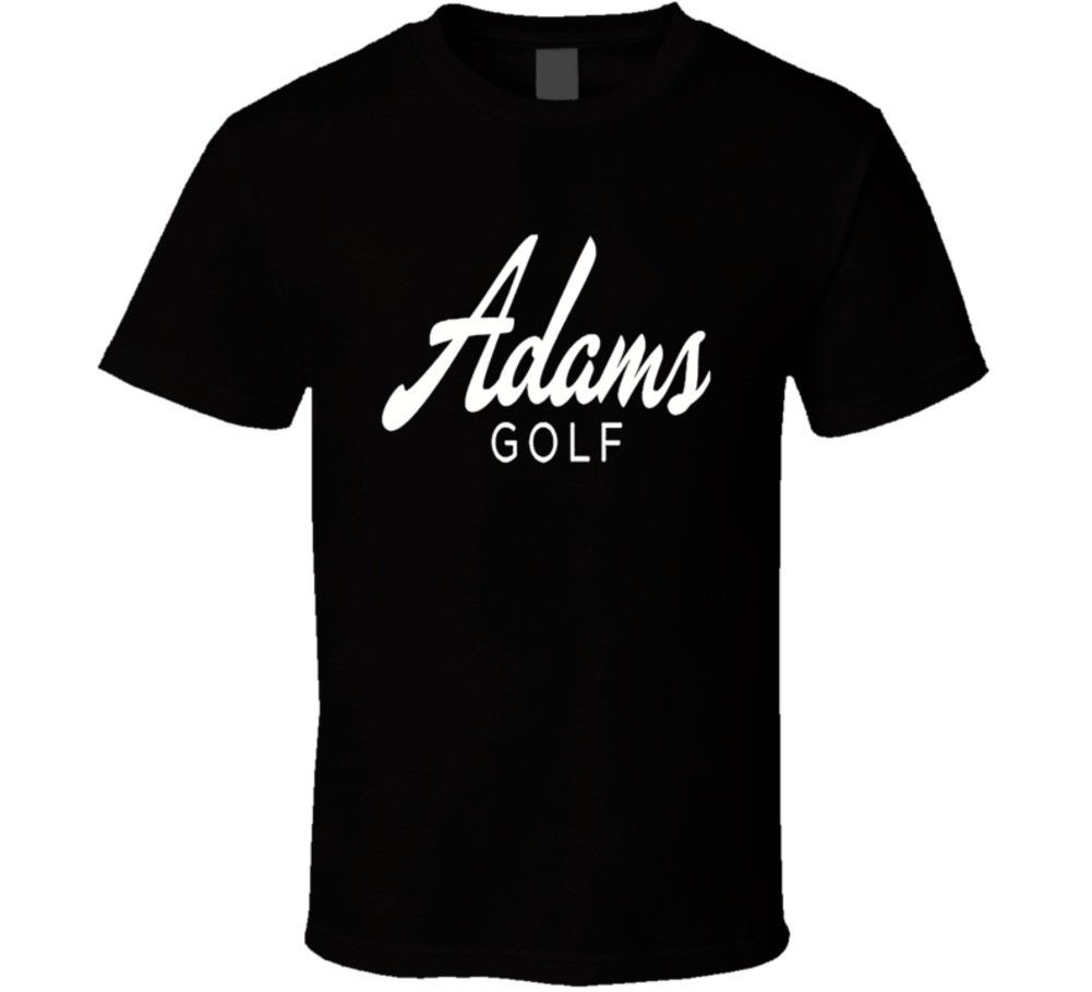 Adams Golfed Golfing Dad Son Fathers Day T-Shirt Fashiont Shirt Free Shipping top tee