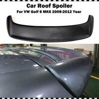 Golf 6 REVOZPORT Style Fiber glass Rear Roof Lip Spoiler Wing for VW VI MK6 Standard Bumper (Not fit GTI & R20) 2009 2012 year