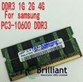 Оригинал Для SAMSUNG Озу DDR3 1 ГБ 2 ГБ 4 ГБ 10600 мГц Ноутбук Memoria DRAM Стик для Ноутбука бесплатная Доставка