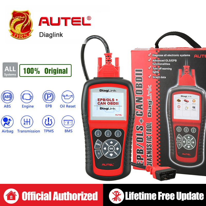 Image 1 - Autel Diaglink OBDII Diagnostic Tool All System OBD OBD2 Scanner DIY Auto Code Reader Automotive Tools as AUTEL MD802 PK MD805-in Code Readers & Scan Tools from Automobiles & Motorcycles
