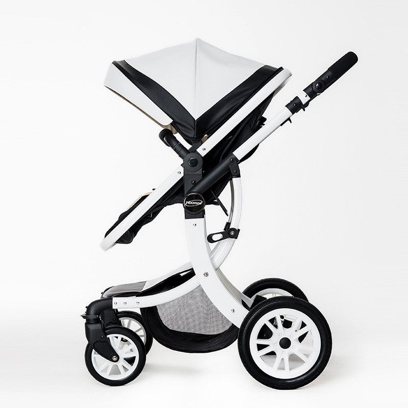 Four Wheels Stroller Baby stroller high lying baby folding car newborn child 0-3 years old child bb stroller Baby Stroller baby stroller ultra light portable shock absorbers bb child summer baby hadnd car umbrella