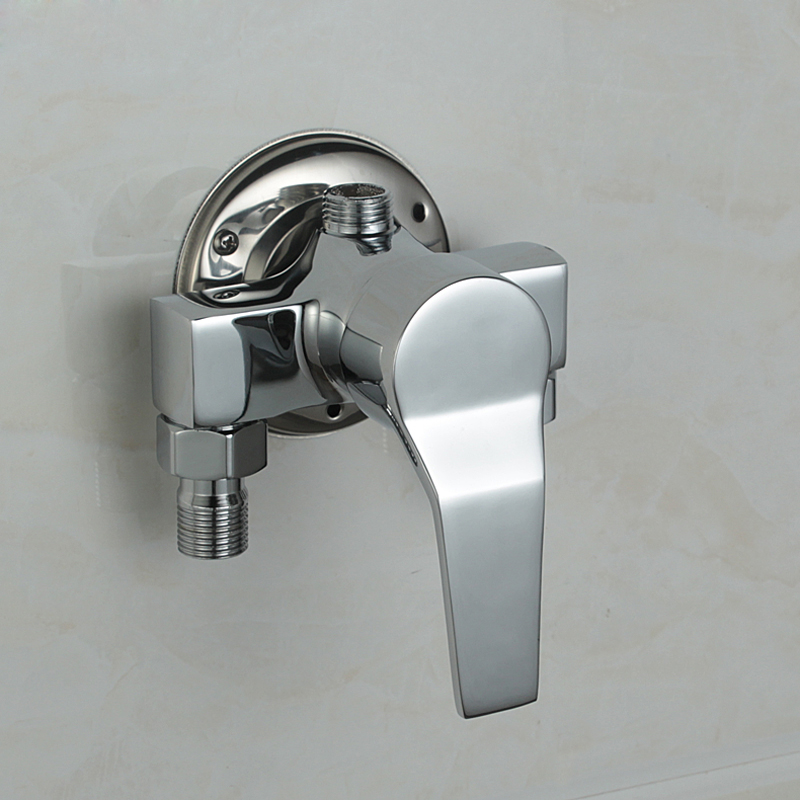 Free Shipping Surface Mounted Brass Shower Faucet Mixing Valve Hot