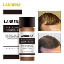 LANBENA 20ml Hair Growth Essence Fast Powerful Hair Care Ess