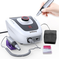 Strong 210 Electric Nail Drill Manicure Machine 15W/32W/35W/65W Nail Pedicure Machine Fingernail Drill Art Equipment Nail Tools