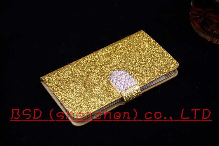 Zte l7 الأزياء جرلي بلينغ محفظة جلدية للحالة zte بليد l7 واقية غطاء ل zte بليد l7 الوجه حقيبة الهاتف مع فتحات بطاقة
