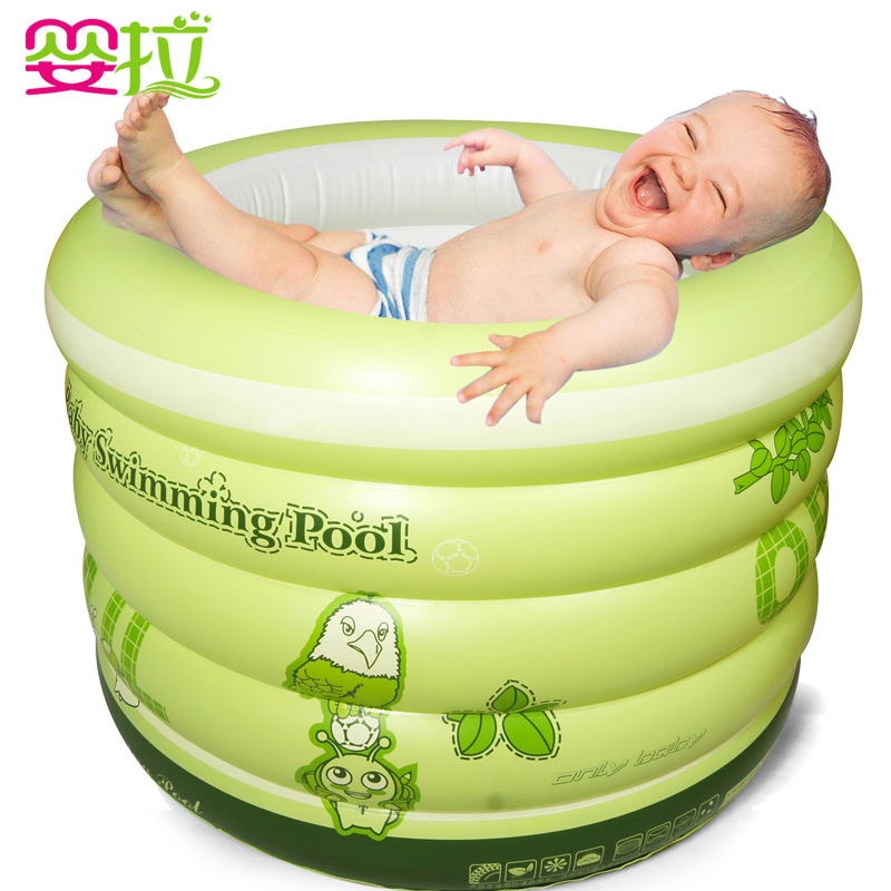 Fashion Home Use Baby Swimming Pool, Inflatable, Thickening Insulation, Newborn Bath Tub , Infant Bath Bucket thickened swimming pool folding eco friendly pvc transparent infant swimming pool children s playing game pool