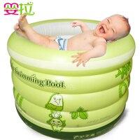 Mode Zu Hause Verwenden Baby Schwimmbad, aufblasbare, verdickung Isolierung, neugeborenen Badewanne, Kleinkind-bad Eimer