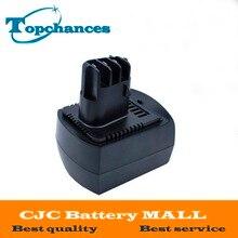 High Quality New Ni Mh 12V 3 0Ah Power Tool Batteries for METABO 6 25473 ULA9