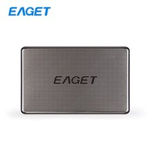Original EAGET G50 500GB HDD 2.5 Hard Disk External Hard Drives Stainless Steel Ultra-thin USB 3.0 High-Speed 500GB Hard Drive
