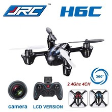 Original JJRC H6C 4CH 2.4G 2MP Camera LCD RC Quadcopter Drone Helicopter RTF 200W 3D 6-Axle Gyro Toys
