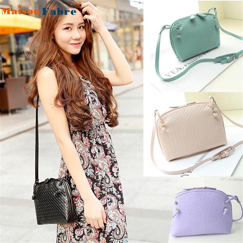 High quality 1PC Women Hobo Shoulder Bag Faux Leather Satchel Crossbody Tote Handbag