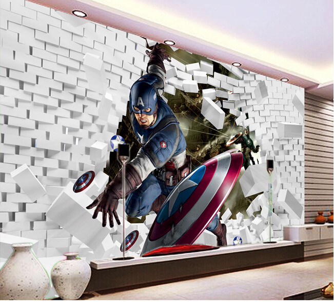 Online buy wholesale movie wall paper from china movie for Chinese movie mural