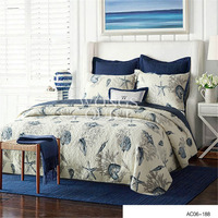100% Cotton Bird Bedspread Queen Size Handmade High Quality Floral Coverlet Bed Cover 3PCS Coverlet Set