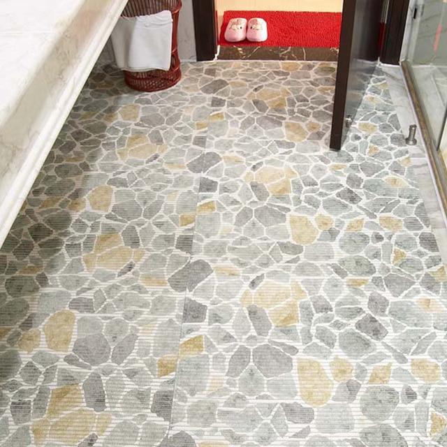 Verdikking pvc foam vloermatten deurmat plastic tapijt badmatten ...