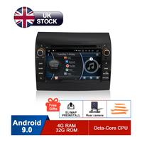 7 Android Car DVD For Fiat Ducato 2009 2010 2011 2012 2013 2014 2015 Auto Radio RDS WiFi GPS Navigation Audio Video Multimedia