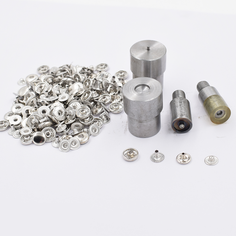 50 sets/lot.<font><b>8mm</b></font> <font><b>Button</b></font>. rivet. Metal buckle combination.Clothing & Accessories. Sewing repair.Metal <font><b>buttons</b></font>. Metal snapT8 T5 T3 image