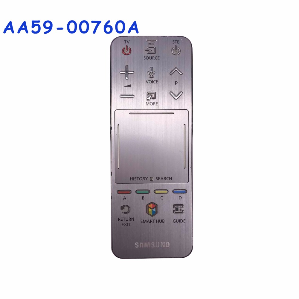 Used Original 95% New Remote Control AA59-00760A AA59 00760A Original Smart Hub Touch Remote For Samsung SAMSUNG TV used original aa59 00759a for samsung smart touch audio sound tv remote control tm 1390 aa5900759a rmctpf1ap1 fernbedienung