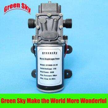 6L/Min 24V DC 80W return valve type pump diaphragm dc 24v 80w 360l h return valve type self priming booster micro diaphragm water pump