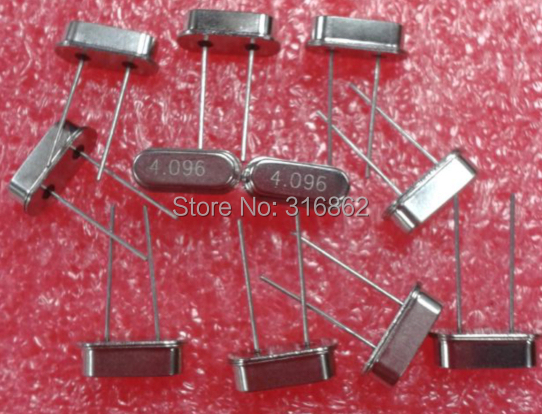 4.096MHZ 4.096M Passive DIP crystal oscillator HC-49S 50PCS/LOT Free Shipping Electronic Components kit